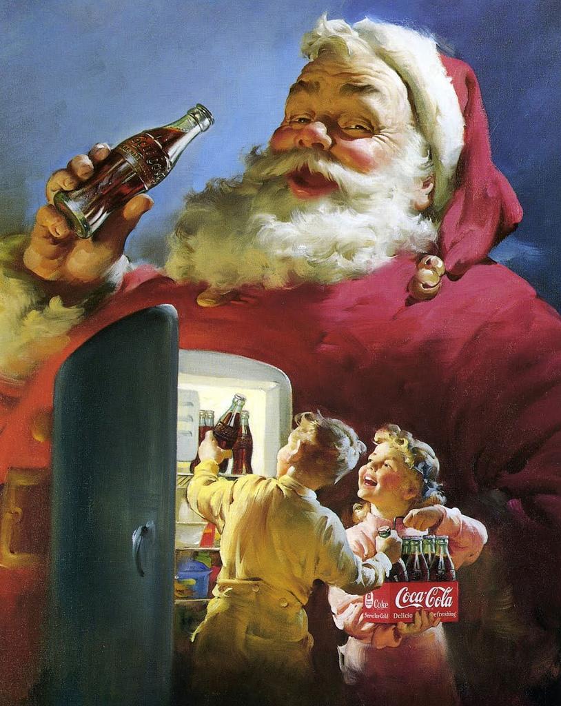 Coca Cola Joulupukki