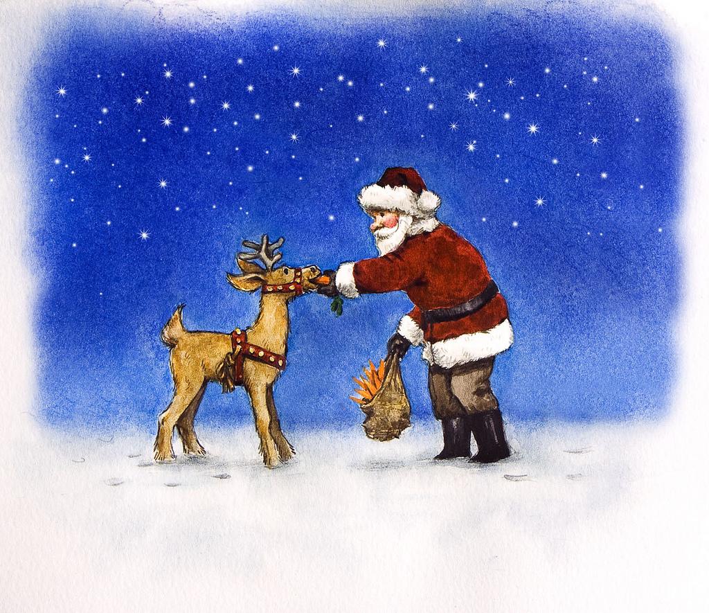 Joulupukin Porojen Nimet