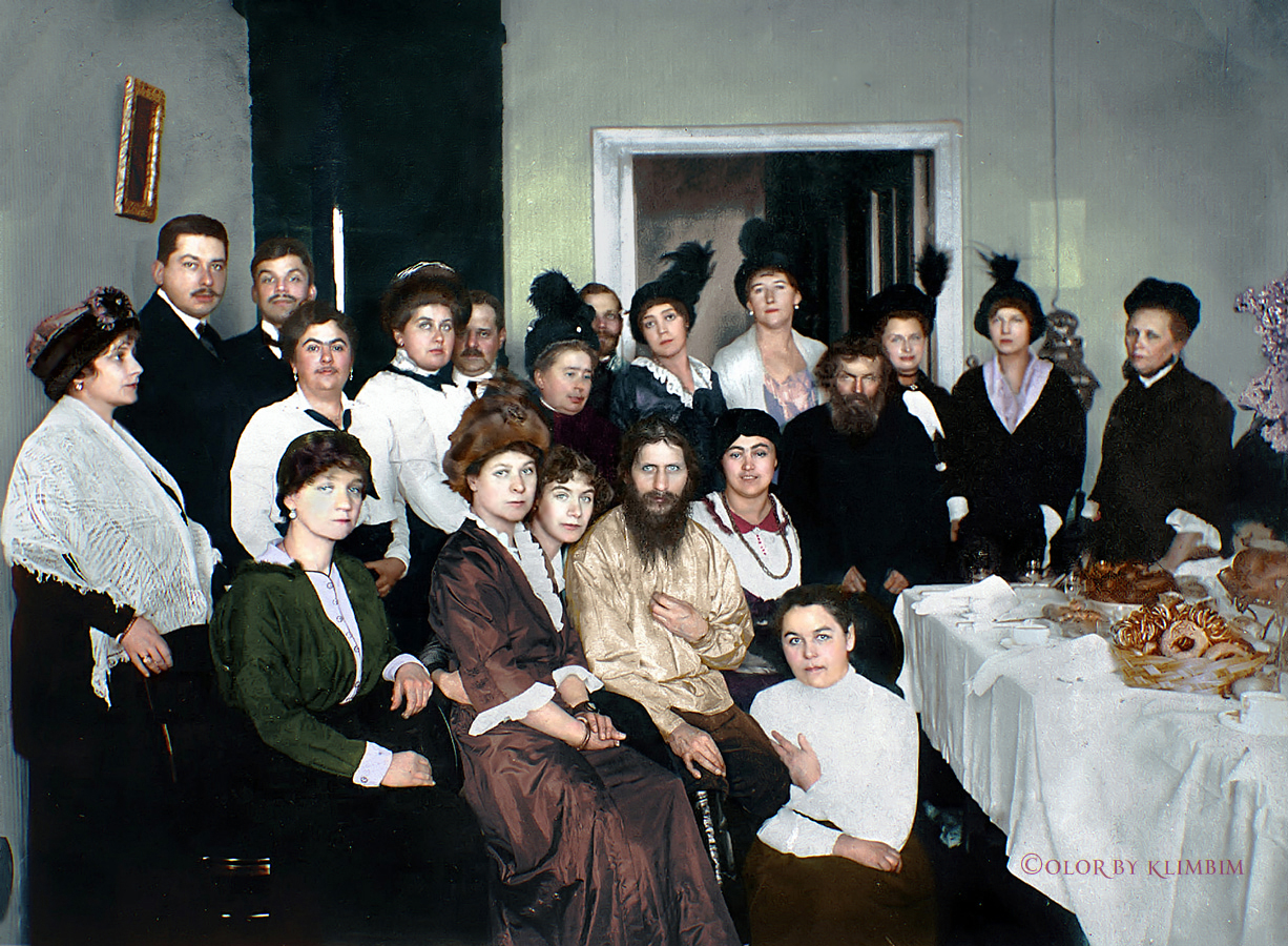 Venäläinen perhe orgioita