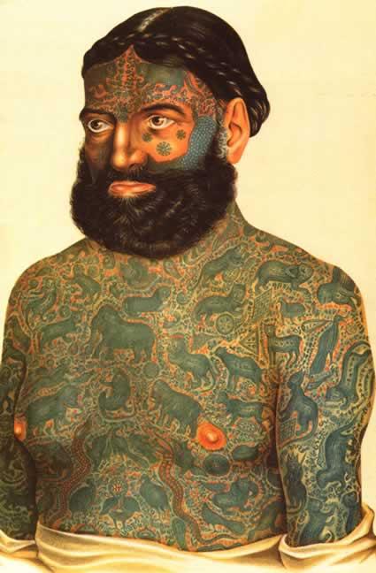Tatuoitu Mies